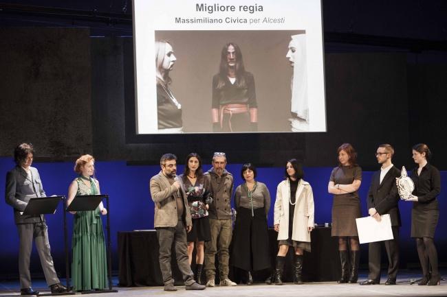 Massimiliano Civica Miglior regia Ubu 2015