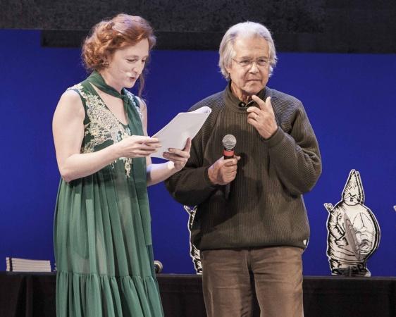 Giuliano Scabia Premio Speciale Ubu 2015