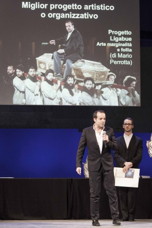 Mario Perrotta Premio Ubu 2015 Miglior Progetto e Organizzazione