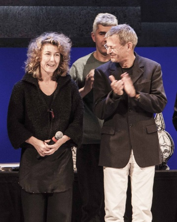 Rosita Volani e Thomas_ Olinda Premio Speciale Ubu 2015