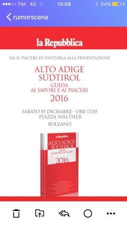 Guida La Repubblica Alto Adige
