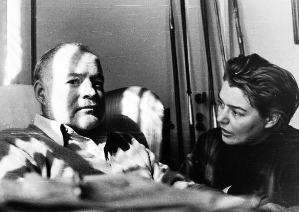 Ernest Hemingway e Fernanda Pivano (fonte www.storie.it)