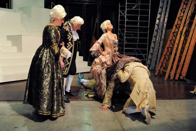 Candide di Mark Ravenhill - regia Fabrizio Arcuri - foto Achille Le Pera
