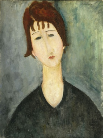 Amedeo Modigliani, Una donna, 1917-1920