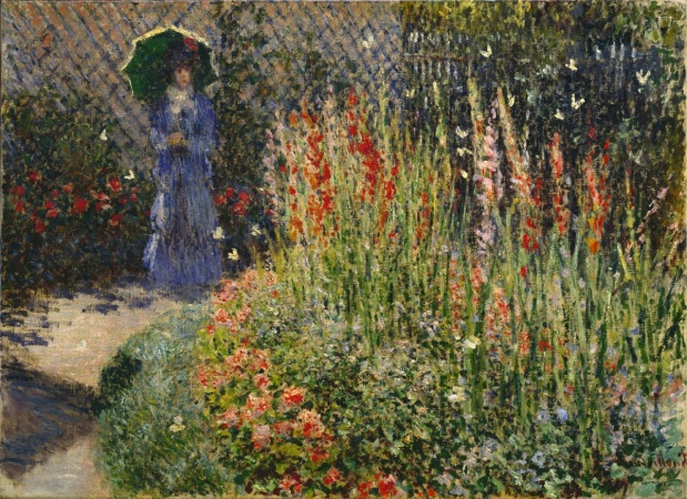 Claude Monet, Gladioli, 1876