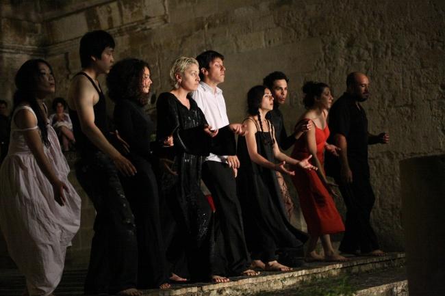 Un gruppo di partecipanti alla II Sessione Internazionale, Matera, 2010 (Foto S. Valeo)
