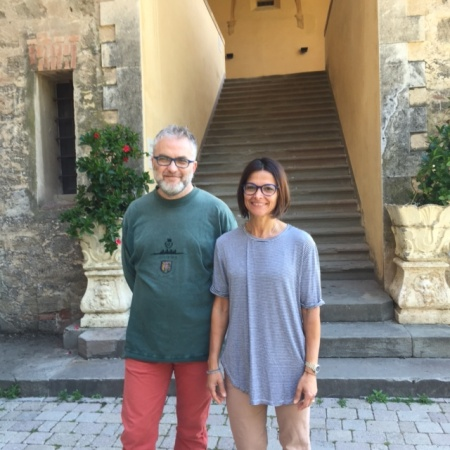 Fabio Masi e Angela Fumarola
