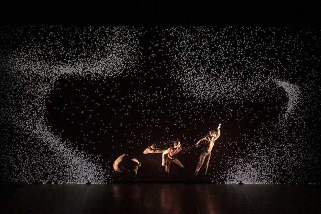 Pixel - Danzatori e pixel (Photo Raoul Lemercier)