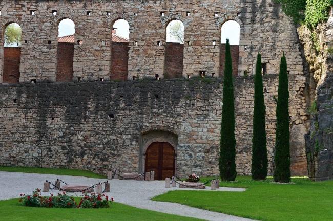 Fossa dei Martiri, Castello del Buonconsiglio, A. Ceolan, 2016 ® Castello del Buonconsiglio, Trento