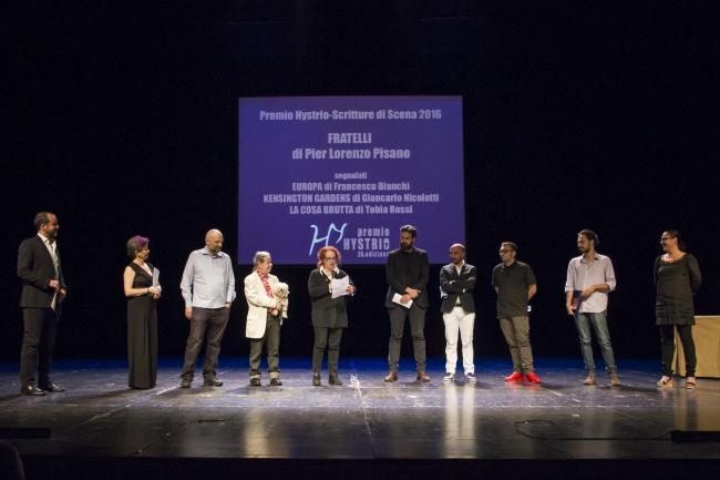 Premio Hystrio Scritture di Scena