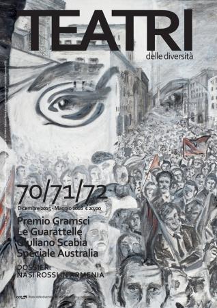 """""""Catarsi-Teatri delle diversità"""" n. 70/71/72. Dipinto di Marco Tavoletta vincitore del Premio """"Gramsci visto da dietro le sbarre"""""""