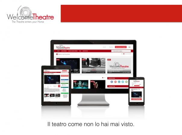 """WelcomeTheatre : """"il teatro come non l'hai mai visto"""""""