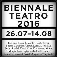 44 esima edizione della Biennale Teatro di Venezia
