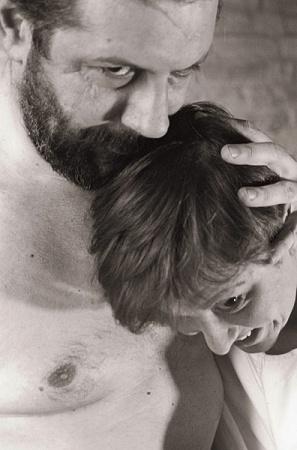 gli attori Roberto Domeneghetti e Barbara Bellini foto  di Massimo Munaro