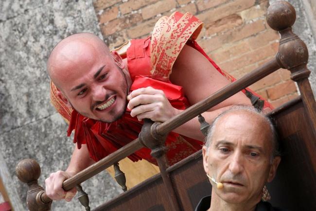 Fabio Valentino e Armando Punzo foto di Stefano Vaja