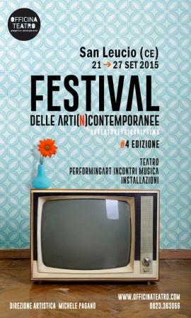 Locandina del Festival 2015