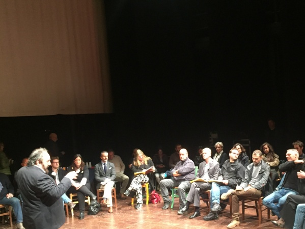 Andrea Buscemi, Conferenza stampa presentazione stagione 2016/17 Teatro di Cascina