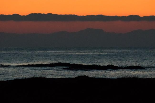 @Luigi Burroni Partenze.  (L'alba  a San Foca, sullo sfondo la costa albanese)