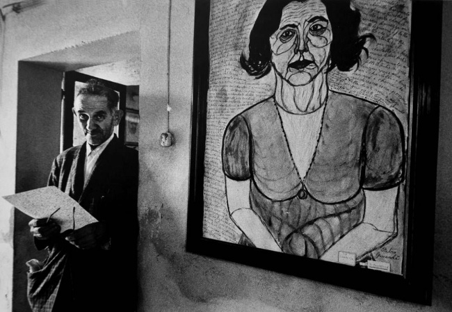 Pietro Ghizzardi 1972 foto di Gianni Berengo-Gardin