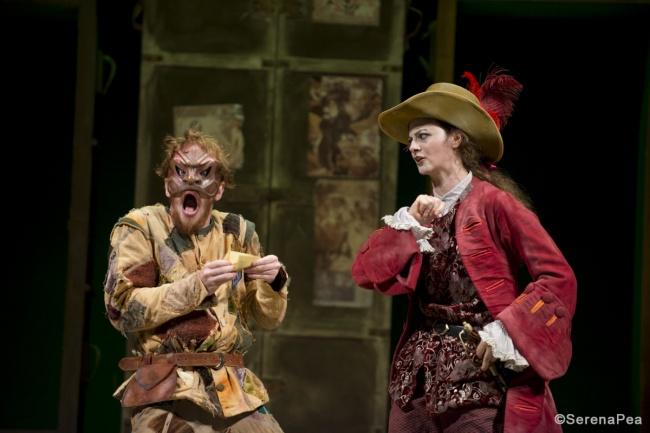 Arlecchino servitore di due padroni al Teatro Goldoni di Venezia