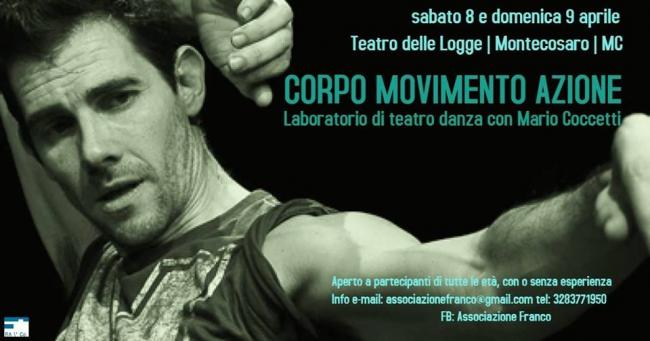 I laboratori-seminari, teatro e danza, Teatro delle Logge Montecosaro