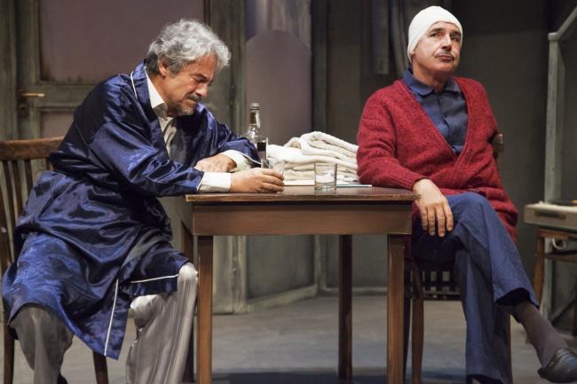 """""""Quei due"""" in scena con successo: Massimo Dapporto e Tullio Solenghi"""