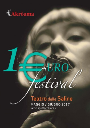 1 €uro Festival 2017 al Teatro delle Saline di Cagliari