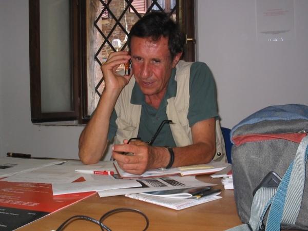 Nico Garrone luglio 2004 Radicondoli