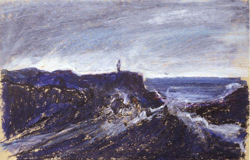 Figure nel paesaggio, G. Bruno, 1984
