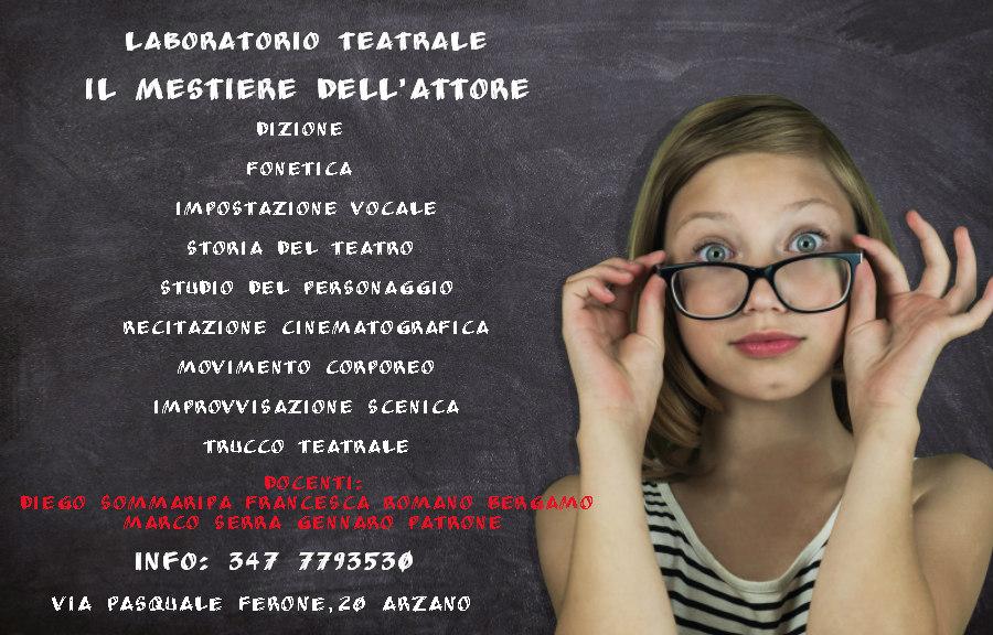 Il mestiere dell'attore: laboratorio a Napoli