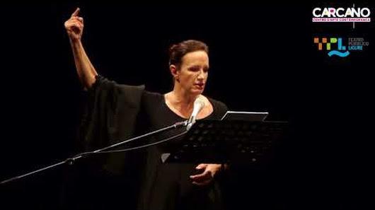 Maddalena Crippa interpreta Penelope in Odissea al Teatro Carcano di Milano 12 febbraio 2018