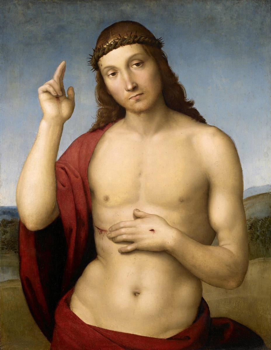 Cristo opera di Raffaello