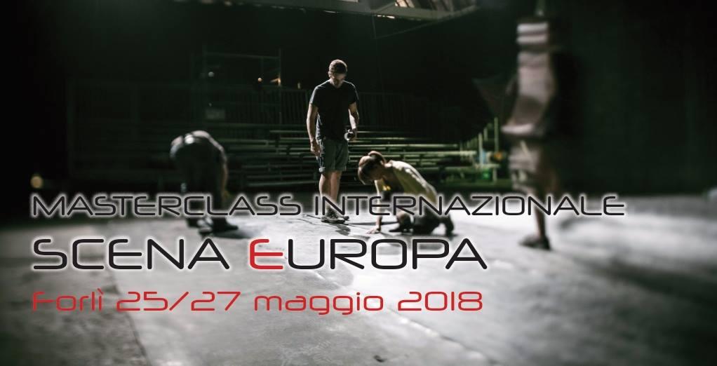 Masterclass Internazionale Scena Europa (IPP) al Festival Ipercorpo di Forlì