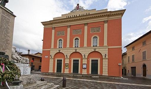 La Fondazione Cucinelli e il Comune di Norcia restaurano il Teatro Civico