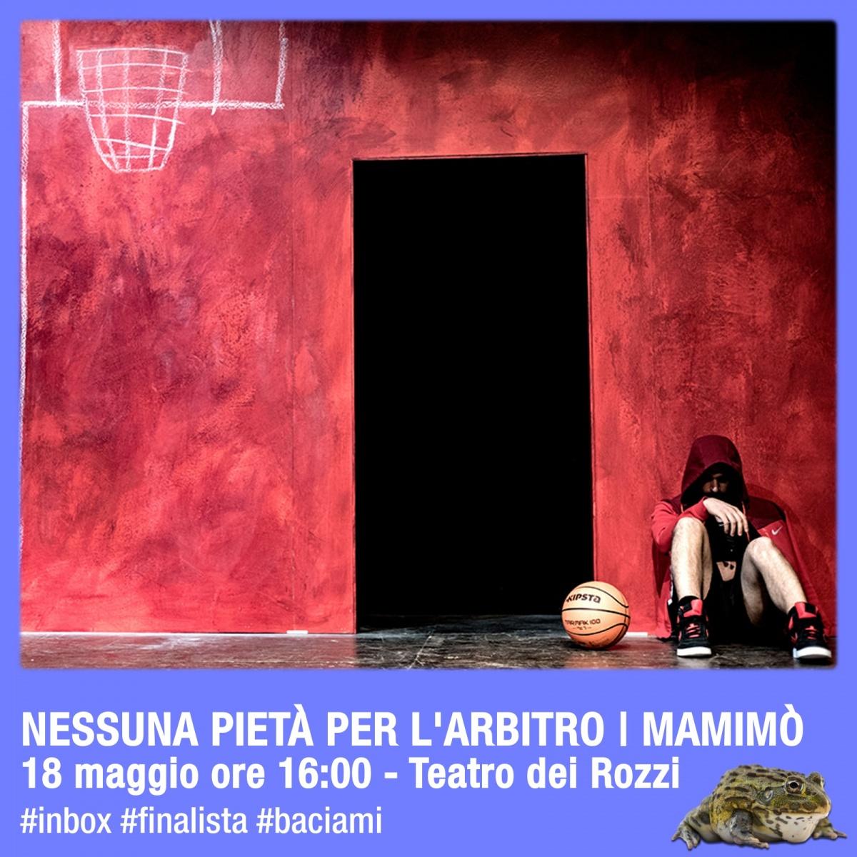 IN BOX Siena: i finalisti in gara, Nessuna pietà per l'arbitro I Mamimò