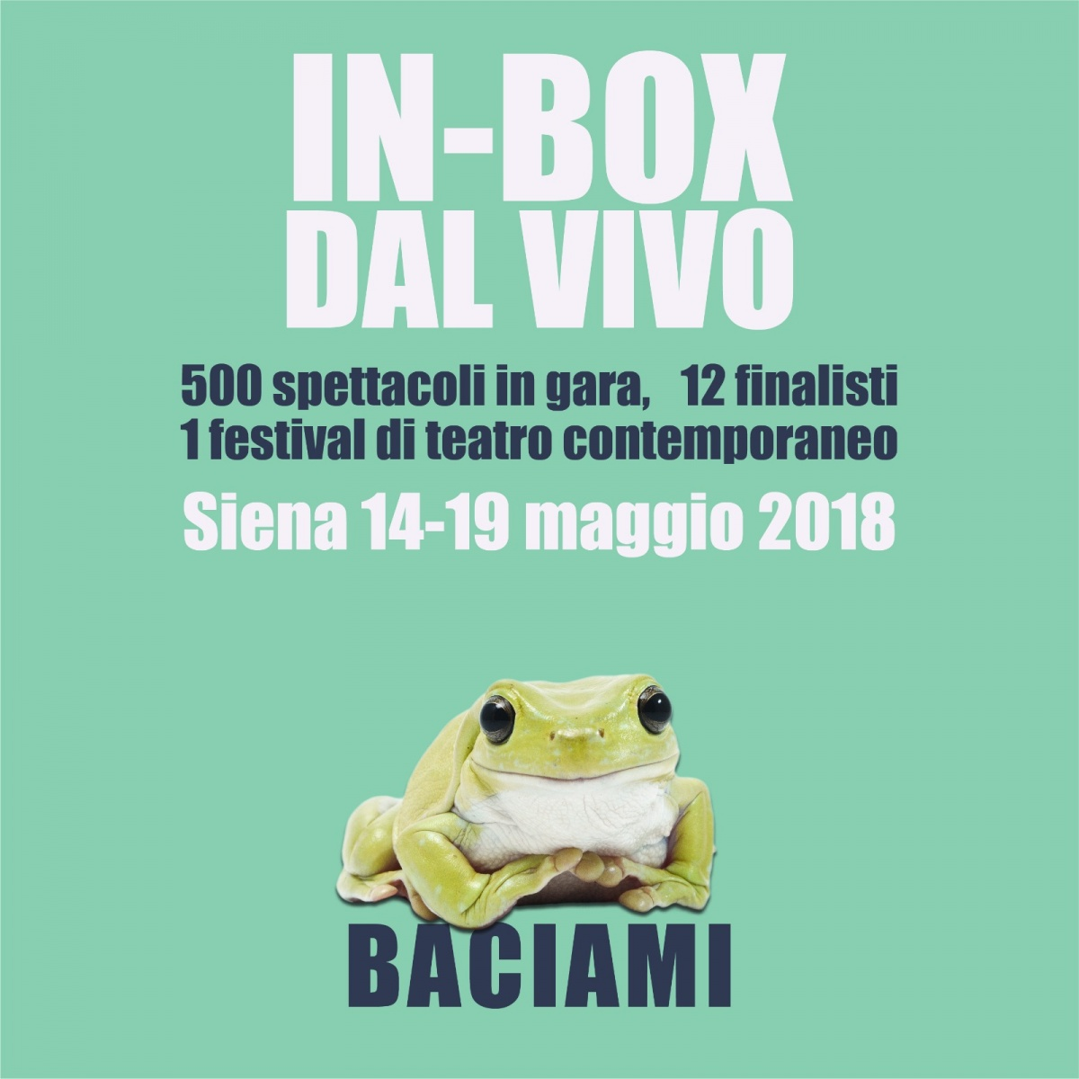 Vince IN – BOX dal vivo Siena 2018 It's app to you – o del solipsismo (Bahamut)