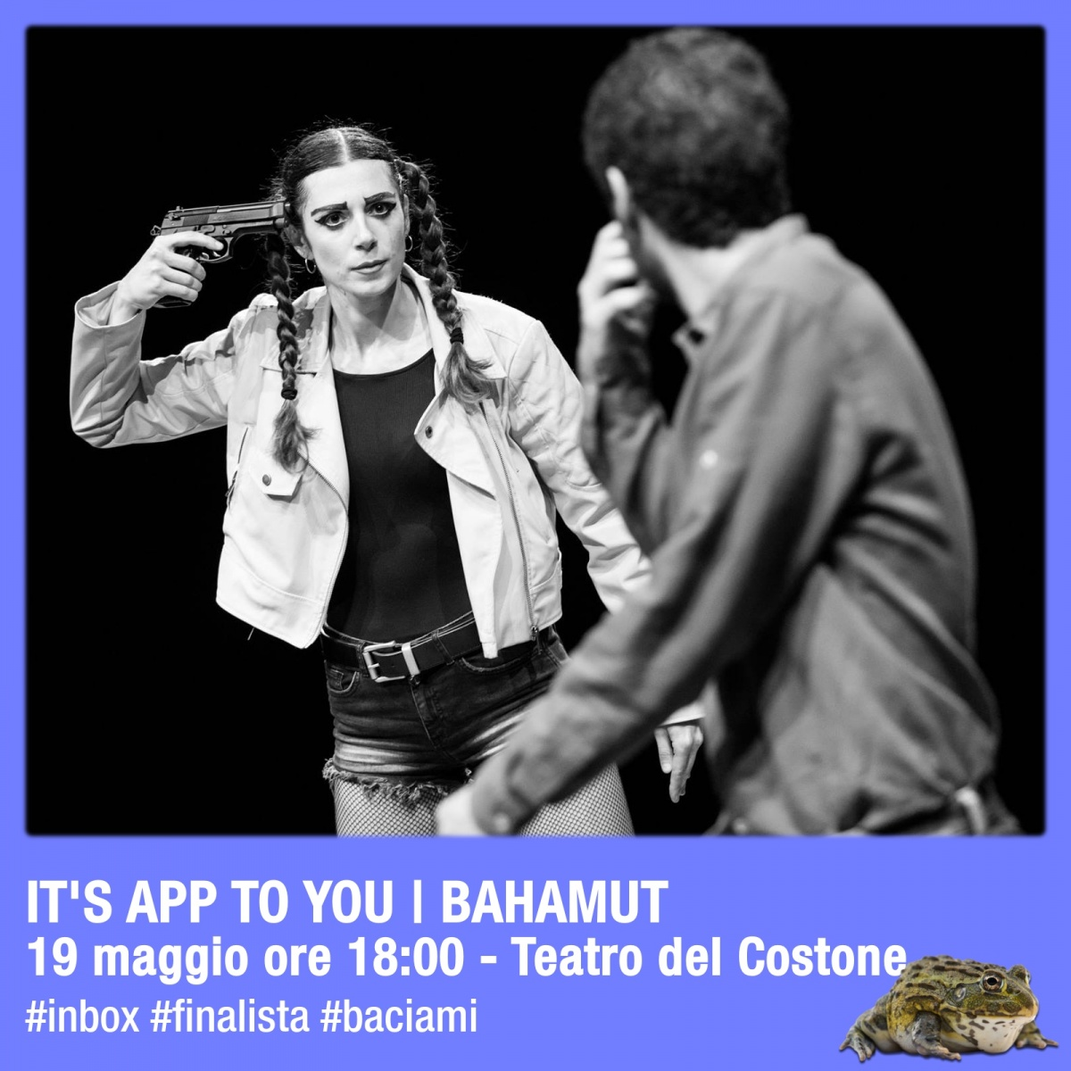 Finale IN-BOX Siena: It's App To You – O del Solipsismo Bahamut