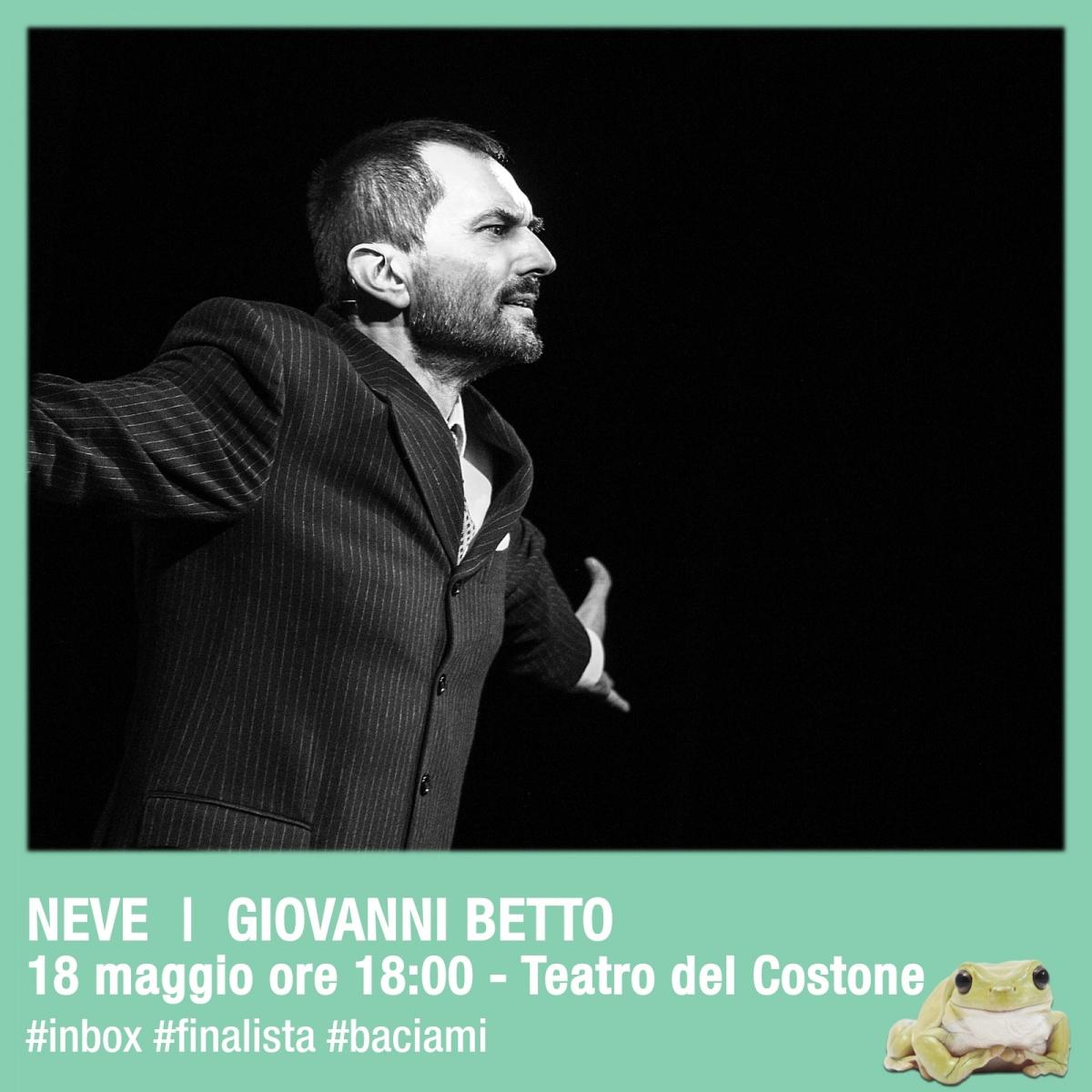 Finale IN BOX Siena: Neve , Giovanni Betto