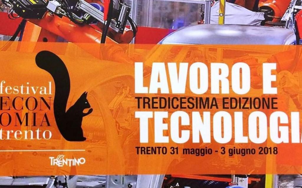 Al Festival Economia di Trento il Lavoro dell'Uomo e del Robot: quale futuro?