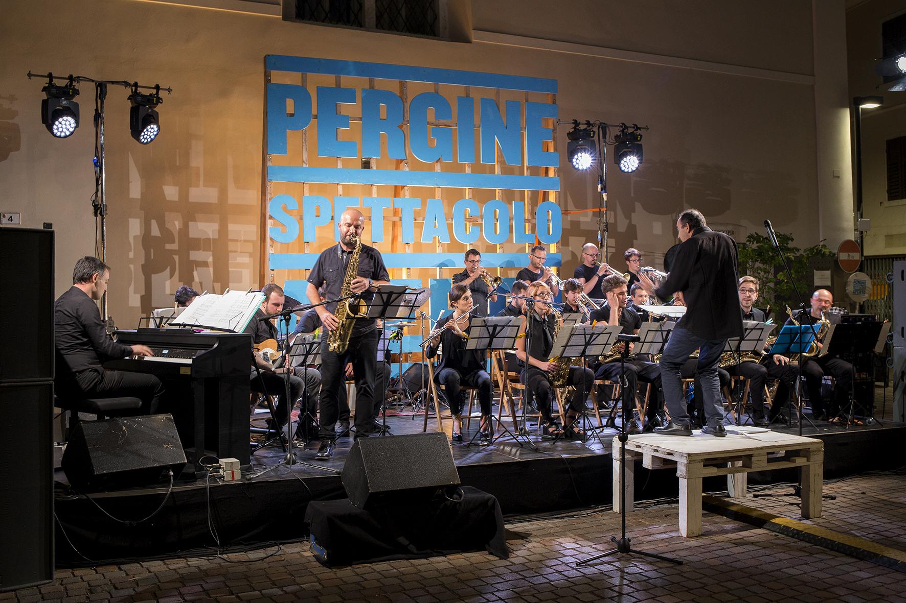 La foto del giorno. Pergine Festival: BJB Bonporti Jazz Band Rodgers'S Songs