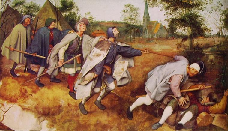 Bruegel la parabola dei ciechi
