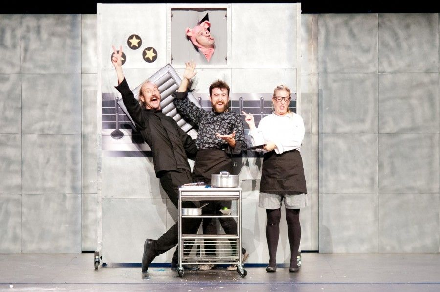 Chefs International Visual Theatre Yllana al Teatro di Rifredi: cuochi per ridere