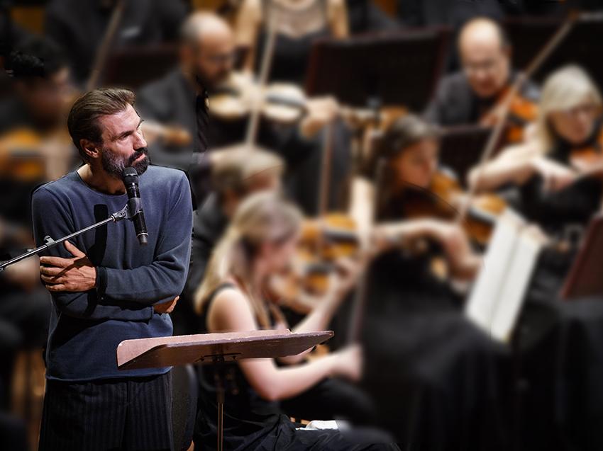 «Il mio polso scandisce come il tuo la stessa musica».  Fabrizio Gifuni-Rino Marrone nel Concerto per Amleto.