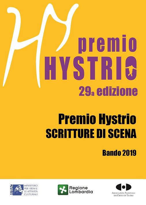 I bandi del Premio Hystrio Scritture di Scena e Premio alla Vocazione per giovani attori 2019