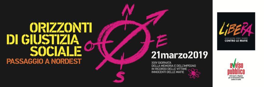 Padova, 21 marzo  XXIV Giornata nazionale della Memoria e dell'Impegno. Per ricordare tutte le vittime innocenti delle mafie.