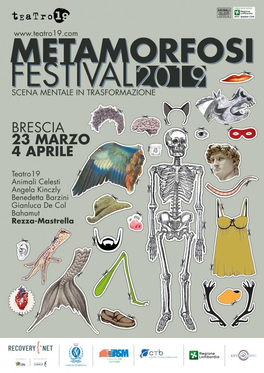 Teatro 19: Metamorfosi Festival. Scena mentale in trasformazione a Brescia