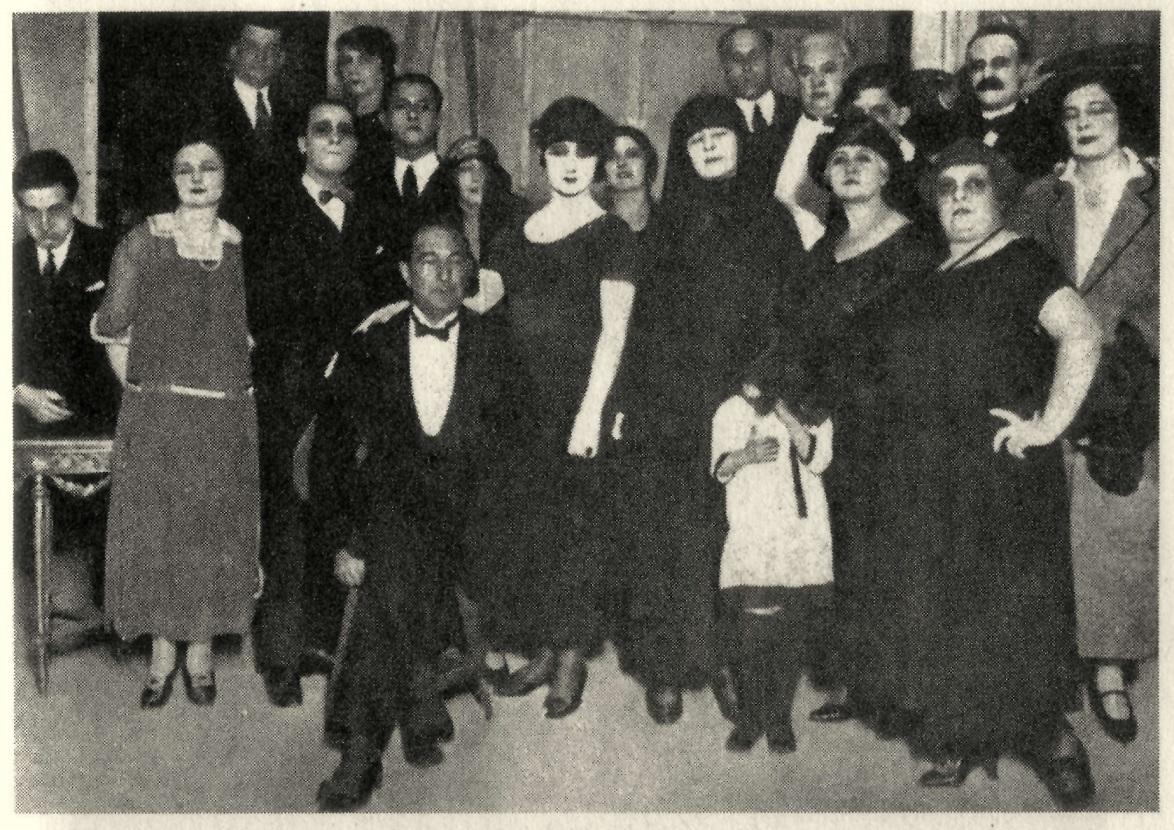 Sei personaggi 1921 _ fondo Biblioteca Museo Teatrale Siae