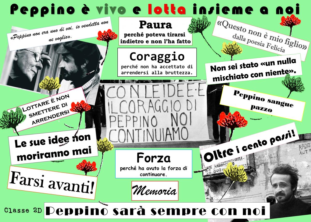 """I.C """"Gatti"""" """"Mio fratello Peppino"""": """"la bellezza della Verità"""" contro le Mafie."""