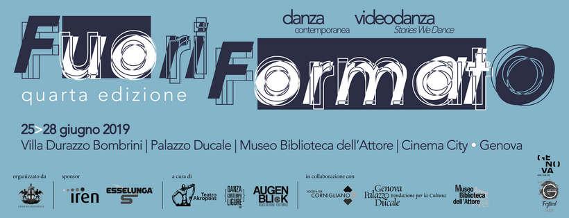 FuoriFormato festival di danza e video danza contemporanea a Genova. Il bando per partecipare