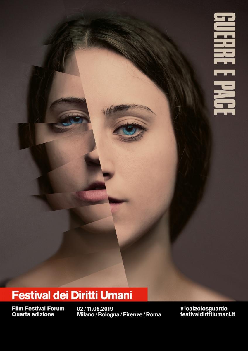 """Festival dei Diritti Umani """"Guerre e Pace"""" in tour a Bologna, Firenze, Roma."""